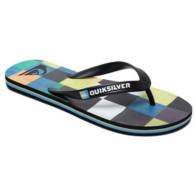 Quiksilver Molokai Resin Check Men Sandals black/blue/green